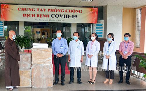 Trung ương Giáo hội Phật giáo Việt Nam: Tặng máy thở hỗ trợ điều trị Covid-19  - Báo Bình Dương Online