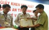 Khen thưởng lực lượng bảo vệ KCN VSIP