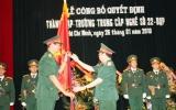 Công bố thành lập trường Trung cấp Nghề số 22 - Quân đoàn 4