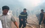 Cháy xưởng cưa cạnh trường mầm non, sơ tán khẩn cấp 350 cháu nhỏ