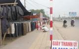 Buôn bán, lấn chiếm vỉa hè đường quốc lộ 1A, xã An Bình (Dĩ An): Địa phương sẽ giải quyết sau Tết Nguyên đán