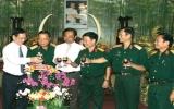 Lãnh đạo tỉnh thăm và chúc tết các đơn vị bộ đội