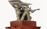'Thần đèn xứ Bắc' di dời tượng bê tông 13m, nặng 140 tấn
