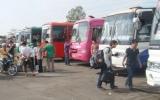 Bến xe khách Bình Dương: Trên 1.600 chuyến xe phục vụ hành khách trong dịp tết