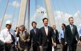 Cầu Cần Thơ chính thức thông xe