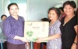CLB Nữ doanh nhân tỉnh: Trao tặng 2 mái ấm tình thương