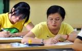 Hơn 300.000 thí sinh làm thủ tục dự thi cao đẳng