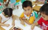 Năm 2015, trẻ 5 tuổi cả nước đến trường mầm non