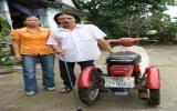 Người đàn ông nghèo, bại liệt trúng thưởng xe ô tô 1 tỷ đồng