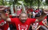 """Thái Lan: """"Áo đỏ"""" chuẩn bị biểu tình lớn"""