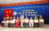 Phường Phú Lợi tổ chức lễ mừng thọ cho 107 cụ