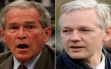 """Cựu Tổng thống Bush hủy diễn thuyết để """"né"""" gặp ông chủ WikiLeaks"""