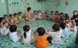 Phổ cập giáo dục mầm non cho trẻ em 5 tuổi tại BD
