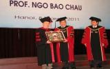 ĐHQGHN trao bằng tiến sĩ danh dự cho GS Ngô Bảo Châu