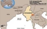 Myanmar lại có động đất, số người chết gia tăng