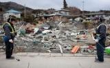 Đáy biển dịch chuyển 24m sau động đất Nhật Bản
