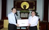 Lãnh đạo tỉnh Cao Bằng trao đổi kinh nghiệm tại Bình Dương