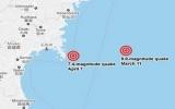 Động đất 7,4 độ Richter làm rung chuyển Nhật Bản