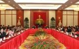 Tổng Bí thư, Chủ tịch Quốc hội Nguyễn Phú Trọng tiếp kiều bào về dự Giỗ Tổ