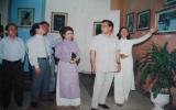 Họa sĩ Đoàn Việt Tiến: Kỷ lục gia vẽ... ngược!