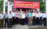 Trao tặng 3 căn nhà cho hộ nghèo huyện Bình Đại (Bến Tre)