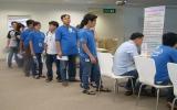Gần 500 cán bộ, công nhân tham gia hiến máu cứu người