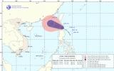 Áp thấp nhiệt đới chuyển thành bão trên biển Đông