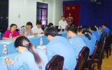 Khảo sát và thảo luận nhóm về tình hình thanh niên công nhân