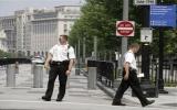 Bắt một người leo rào vào Nhà Trắng