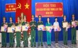 Bộ chỉ huy quân sự tỉnh:  Tổ chức hội thi báo cáo viên giỏi