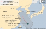 Trung Quốc: 200.000 dân sơ tán tránh siêu bão