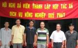 Thành lập Hợp tác xã dịch vụ nông nghiệp Quý Phát