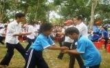 Sân chơi bổ ích cho học sinh, đoàn viên thanh niên
