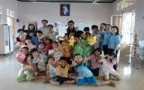 Trang trí phòng chơi cho trẻ em ở họ đạo Búng (TX.Thuận An)