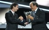 Messi đoạt danh hiệu Cầu thủ hay nhất châu Âu