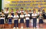 Công ty TNHH MTV Cao su Dầu Tiếng: Trao thưởng khuyến tài, khuyến học, tuyên dương công nhân viên chức lao động giỏi