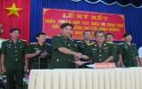 Bộ chỉ huy Quân sự tỉnh và Viettel Bình Dương ký kết thỏa thuận hợp tác