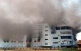 Cháy kinh hoàng tại trung tâm thương mại lớn ở TP Vinh