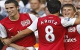 Arsenal có trận thắng đầu tiên