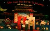 Liên hoan Đờn ca tài tử - Cải lương tỉnh Bình Dương năm 2011:Món quà thiết thực, đầy ý nghĩa nhân ngày Sân khấu Việt Nam