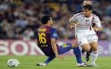 ĐKVĐ Barcelona đánh rơi chiến thắng trước AC Milan