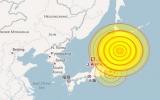 Động đất gần vùng chịu thảm họa kép Nhật Bản
