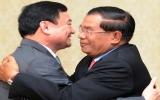Thaksin và Hun Sen không hội đàm về chính trị