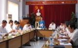 Ban Kinh tế Ngân sách – HĐND tỉnh làm việc với hai BQL KCN và Sở Công thương