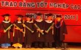 Trường Đại học Bình Dương trao bằng tốt nghiệp thạc sĩ khóa I