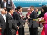 Chủ tịch nước đến Jakarta tham dự Hội nghị Cấp cao Á-Phi