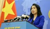 越南外交部发言人黎氏秋姮:越方欢迎各国在东海问题上符合国际法的立场