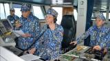 越中开展海上联合巡逻 致力于建设和平、稳定与合作的海域
