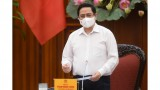 越南政府总理范明正:决不得掉以轻心 提高健康意识