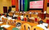 Người ứng cử đại biểu Quốc hội và HĐND tỉnh tiếp xúc cử tri là cán bộ, chiến sĩ lực lượng vũ trang